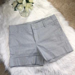 Zara Basic seersucker shorts